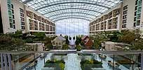 Extraordinary Environments inside the Hotels / Our Resorts bring the outdoors inside.  They feature incredible atriums, amazing architecture, & many feature acres of gardens ... You may find waterfalls,  a river inside with fish and ducks, a boat that is a restaurant, or a tour boat you may ride -- all have gorgeous living gardens; one has amazing riverfront views ... All are EXTRAORDINARY! / by Gaylord Hotels