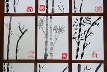 A x B: alberi foglie fiori