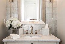 Bathroom glam