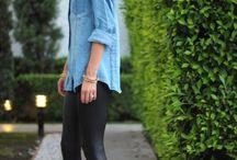 Leggings with heels