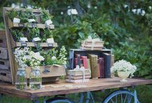 Country Chic Wedding / Rustic ,earthy ,chic , wedding decor and styling ideas / by Pincurls & Paint