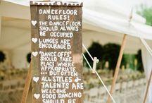 Wedding Deco Signs