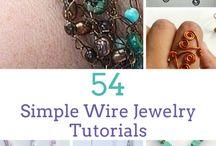 54 wire jewellery tutorials