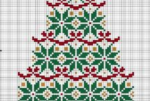 Xmas / Xmas cross stitch patterns
