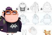 Pumpkin Reports, serie dibujos / Dibujos aniamdos pumpkin reports, dibujos infantiles, comedia de animacion sobre la invasion de los aliens a la tierra