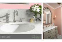Rose Quartz in Your Home / Pantone named two colors of the year for the first time, and one of them is Rose Quartz. This gorgeous color is going be in style and trending in 2016.