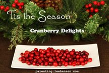 Recipes: Holiday Favorites / Holiday treats, drinks, main dish recipes for the Christmas and New Year season.