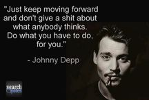 Johnny Depp / Quotes and picture
