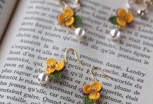 Crochet Earrings & Necklaces