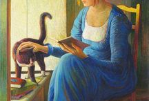 Mulheres que lêem...