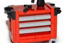 Lego Red Tool Chest