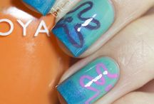 Nails - Fluid, Waves, Organic