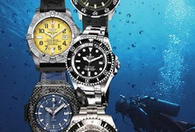 Diving Watches / by willibuy.com Design for Watch - Uhr - Montre