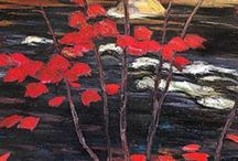 Group Of Seven Art / The Group Of Seven and Tom Thomson - iconic Canadian artists.