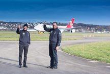 Solar Impulse 2 / Back in Switzerland After Record Flight