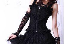 Gothic, Black Outfits, Dark Fashion, Punk Girls