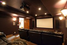 Basement Home Theaters