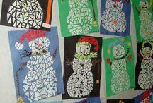 lumiukko mosaiikki