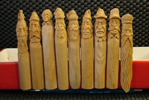 Whittling and bone carving