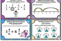 Matematika - zlomky, des. čísla, procenta