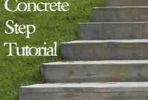 Outdoor projects / Hill side stairs DIY