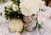 Rustic Wedding Flower Ideas / Rustic yet elegant ideas for wedding
