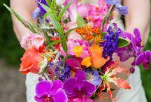 Bloemen voor de bruiloft