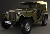 GAZ 67. Czapayew.