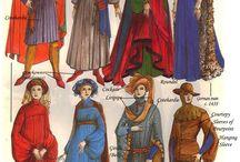 abiti medievali