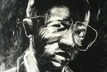 Nelson Makamo / Nelson Makamo was born in Modimolle, Limpopo province, in 1982. Makamo moved to Johannesburg to join the Artist Proof Studio in 2003. He was the recipient of the Johnson and Johnson bursary (2005) and the Pinpointone Human Resources Scholarship (2005).