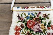 Petit point and Embroidery / Flowers, patterns, colors.