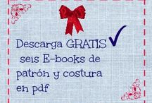 Ebooks de patrón y costura