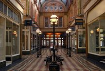 Preston, UK / The city of Preston, Lancashire - UK.