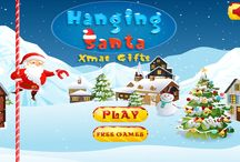appresk.in - Hanging Santa-Xmas gifts / A game of quick finger strokes, rapid eye movement and ability to gather xmas gifts. Play this game and Enjoy!