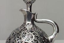 artystyczne wyr. z metalu srebra......