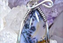 Sage Amethyst Nevada Gemstone Beads and Handmade Jewelry