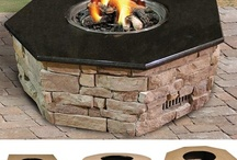 Firepits / Everything you need for a Firepit.  Browse accessories, housings, kits, decorative glass and parts. / by The BBQ Depot