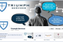 Fantastic Facebook Timeline Covers / Looking for ideas for timeline cover photos?  Check out these staffing firm's creative facebook pages.