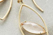 Jewelry earrings - delicate