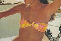 70s swimsuit