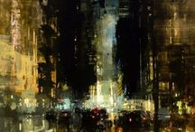 Cityscapes / Cityscapes paintings for inspiration.