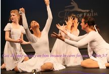 LOFDC Inspirational pictures / Leap of Faith dancers portraying scripture coming to life through dance.