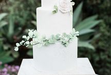 Garden Inspired Wedding Cakes