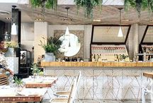 Organic restaurant design ideas