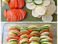 comidas con vegetales