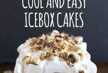 No Bake Ice Box Recipes