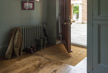 Distressed Oak Floors