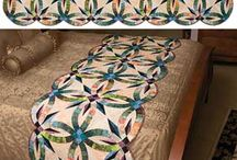 Quilts and embroidery