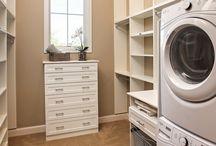 Master Closet / Laundry
