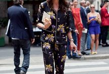 Pijama street style